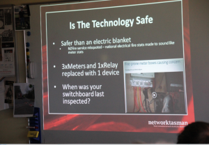 Network Tasman Ltd smart meter presentation Is the technology safe