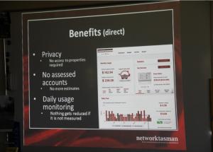 Network Tasman Ltd smart meter presentationBenfits (direct)